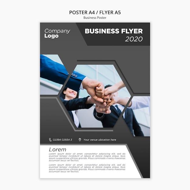 ビジネスフライヤーテンプレート Premium Psd