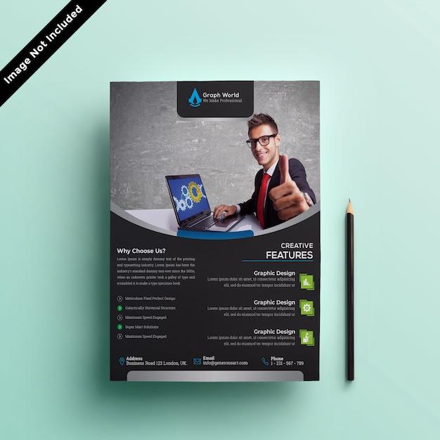 Business flyer Premium Psd