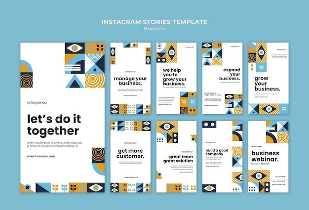 Modello di storie di instagram aziendali Psd Gratuite