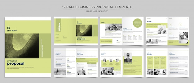 ビジネス雑誌のテンプレート Premium Psd