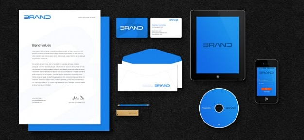 Business mockup PSD material PSD file | Free Download