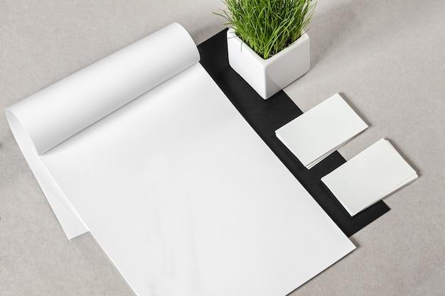 business stationery mock up psd file