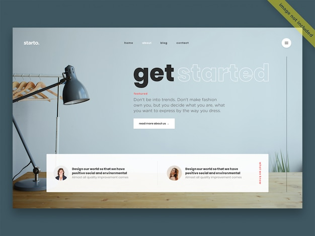 Business template Premium Psd