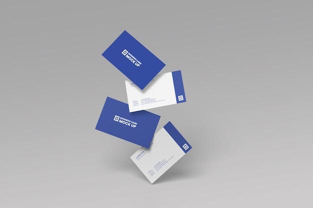 비즈니스 카드 모형 프리미엄 PSD 파일