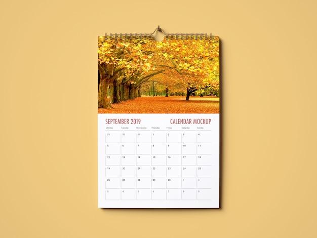 Календарь макет Premium Psd