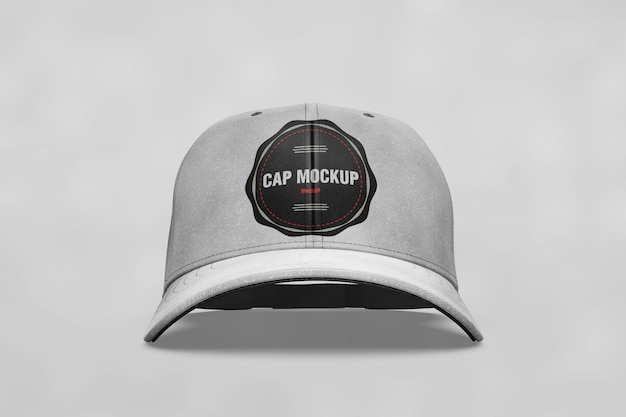 Cap mock up front view Free Psd