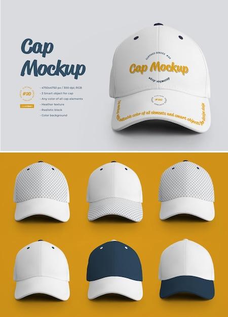 모자 모형 프리미엄 PSD 파일
