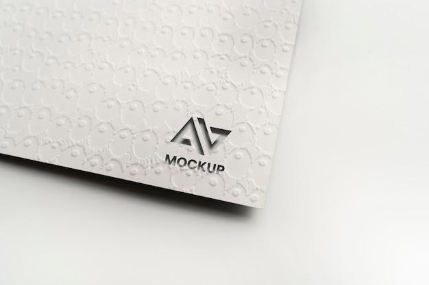 Дизайн логотипа макета заглавной буквы Premium Psd