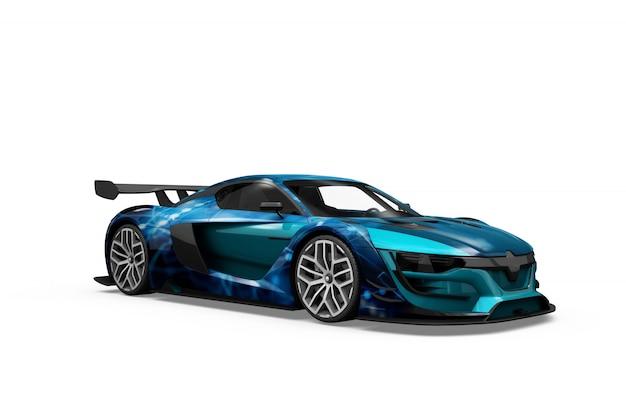 Progettazione isolata del modello dell'automobile Psd Gratuite