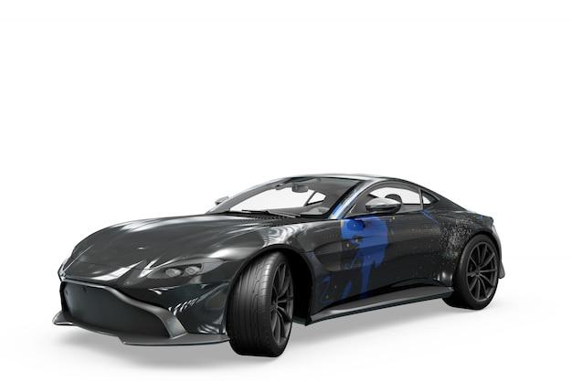 Автомобиль макет изолированные дизайн Бесплатные Psd