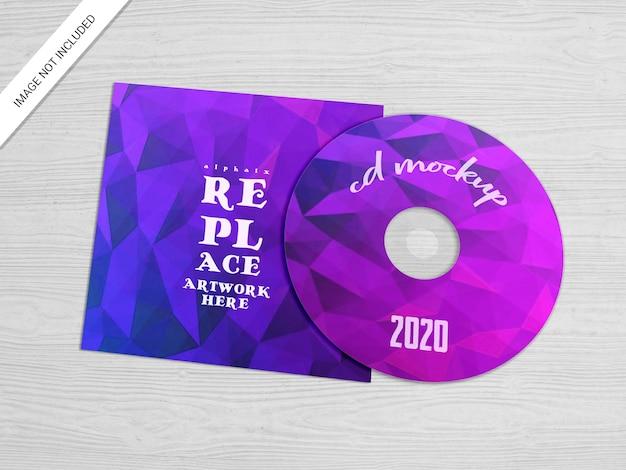 Макет корпуса cd или dvd Premium Psd