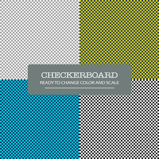 Checkerboard seamless pattern Free Psd