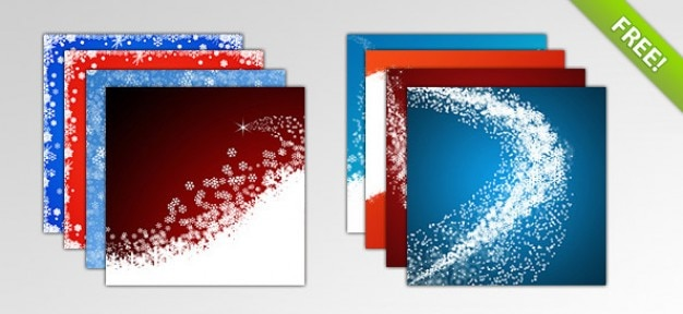 Christmas backgrounds Free Psd