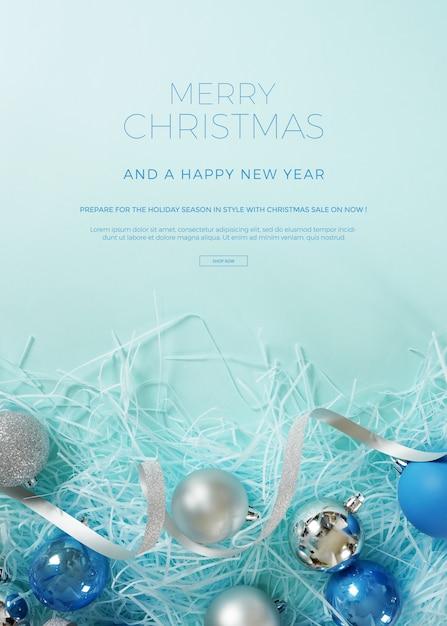 Christmas banner Premium Psd