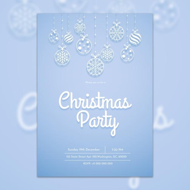 크리스마스 표지 템플릿 무료 PSD 파일