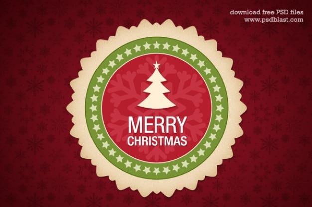 christmas design element psd Free Psd