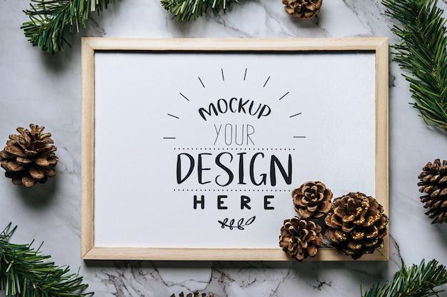 크리스마스 휴일 인사말 프레임 디자인 무료 PSD 파일