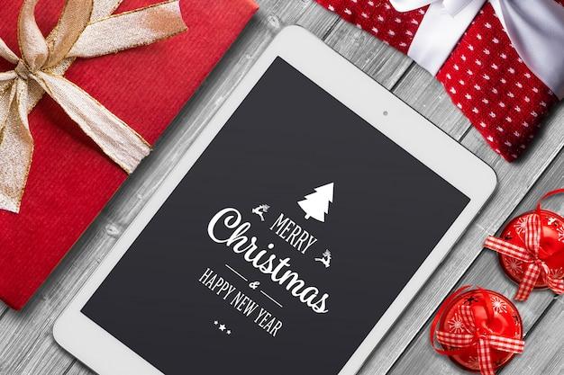 Christmas mock-up Premium Psd