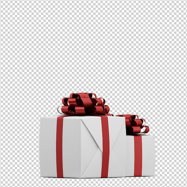 Christmas presents Premium Psd