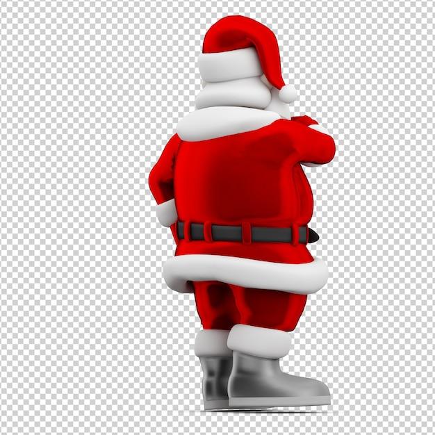 Christmas santa toy Premium Psd
