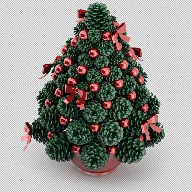 Christmas tree Premium Psd