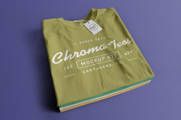 Chromatees tシャツモックアップ 無料 Psd