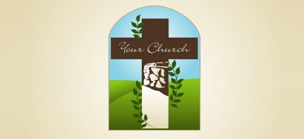 church free logo template psd file free download