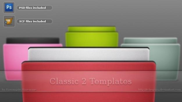 classic templates psd file