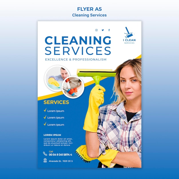Cleaning Service Template Free from image.freepik.com