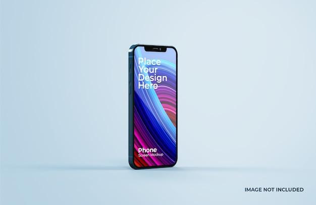 Close up on beautiful smart phone mockup Premium Psd