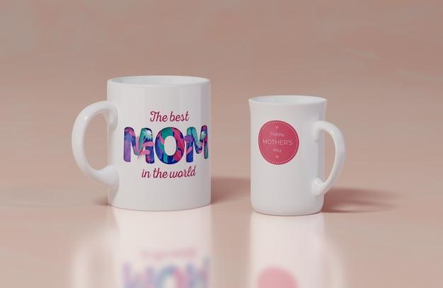 Close-up mothers day mug Free Psd