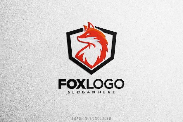 Крупным планом на макете логотипа на белой ткани Premium Psd