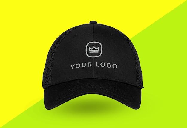 스포츠 모자 로고 이랑 격리에 닫습니다 프리미엄 PSD 파일