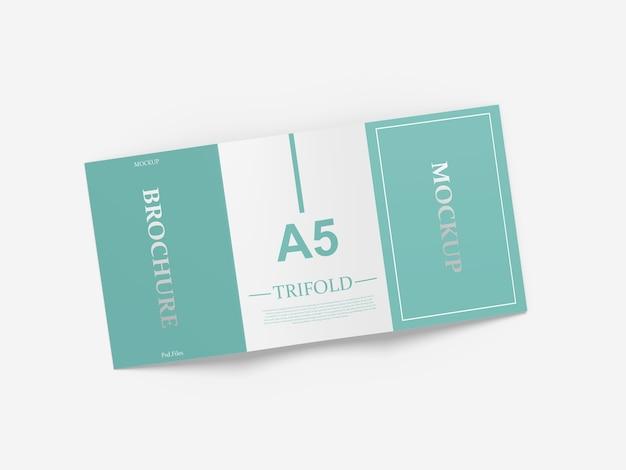 Trifold 브로셔 이랑 절연에 닫습니다 프리미엄 PSD 파일