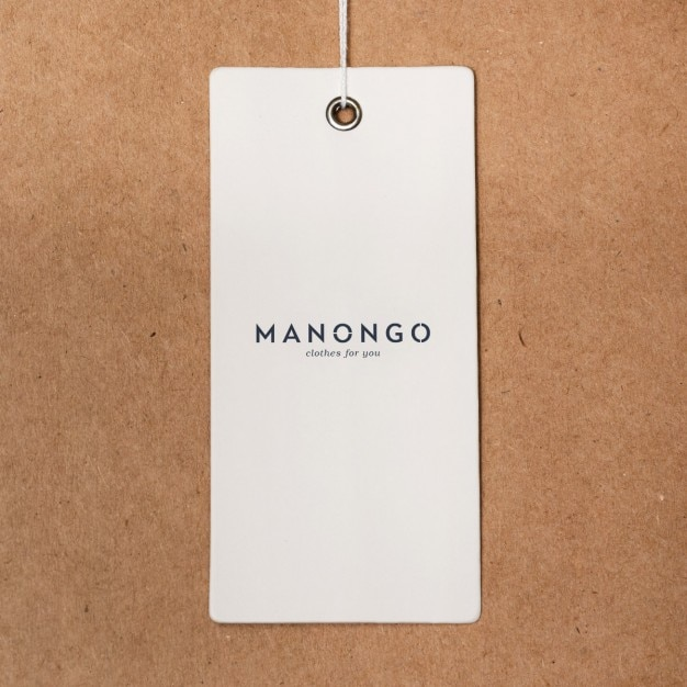 Clothes Label Mock Up Psd File | Free Download