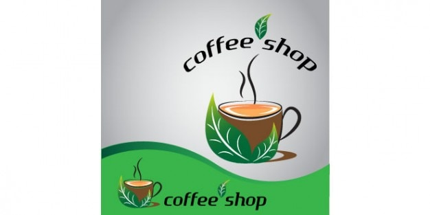 Free PSD | Coffee cup logo design