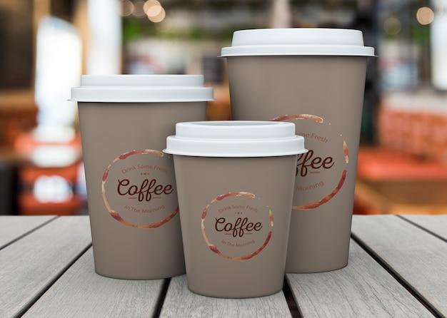 커피 컵, 이랑 무료 PSD 파일