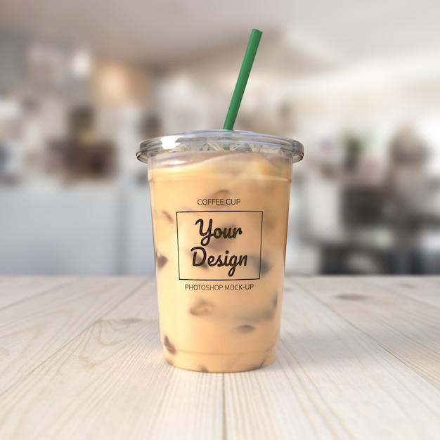Макет кофейной чашки Premium Psd