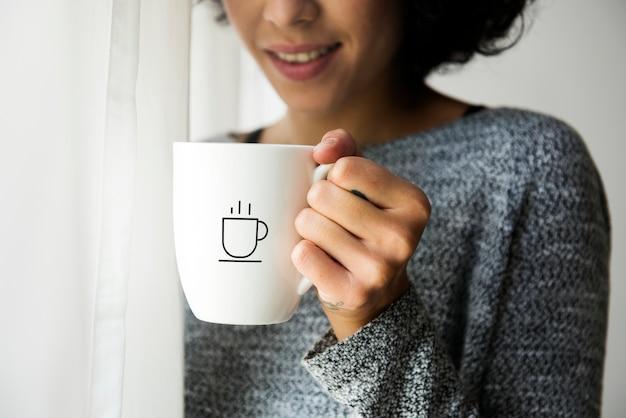 Coffee cup mockup Premium Psd