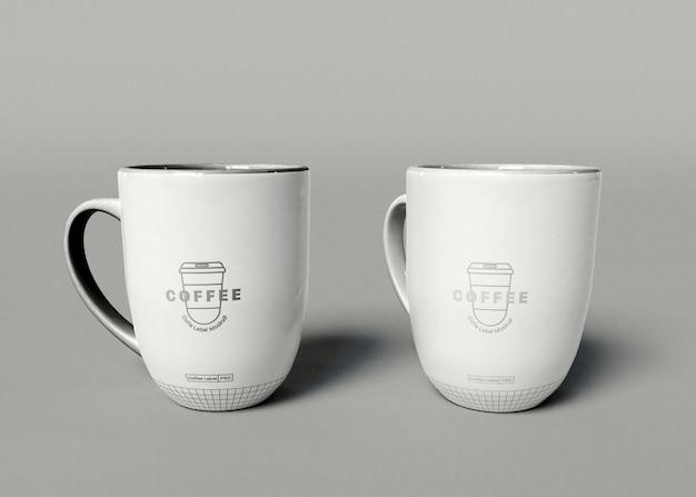 Mockup di tazza di caffè Psd Gratuite