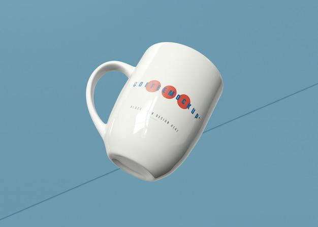 Mockup di tazza da caffè Psd Gratuite