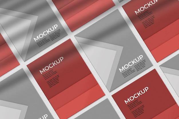Коллекция макетов композиции плакатов Бесплатные Psd