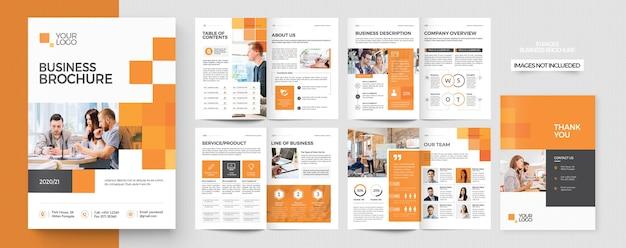 Company profile brochure social media post template Premium Psd