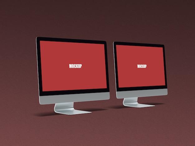 Компьютерный макет 2 Premium Psd