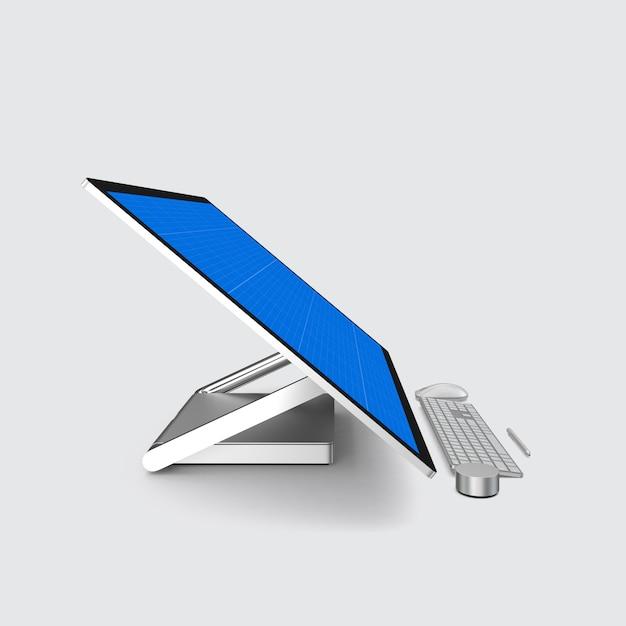컴퓨터 화면 모형 프리미엄 PSD 파일