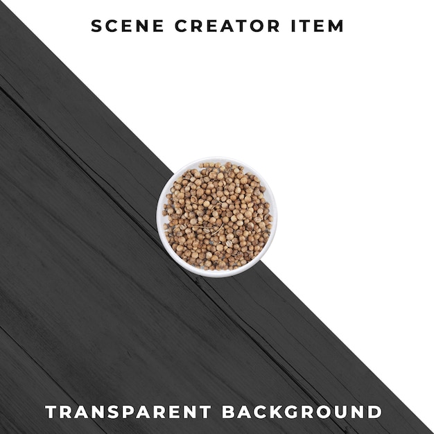 Coriander isolated with clipping path. Premium Psd
