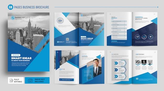 팜플릿 템플릿-기업 비즈니스 프리미엄 PSD 파일