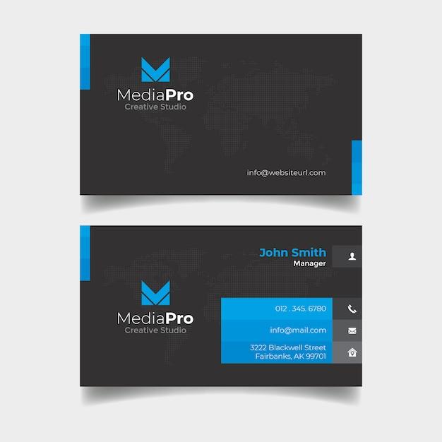 Corporate business card psd Premium Psd