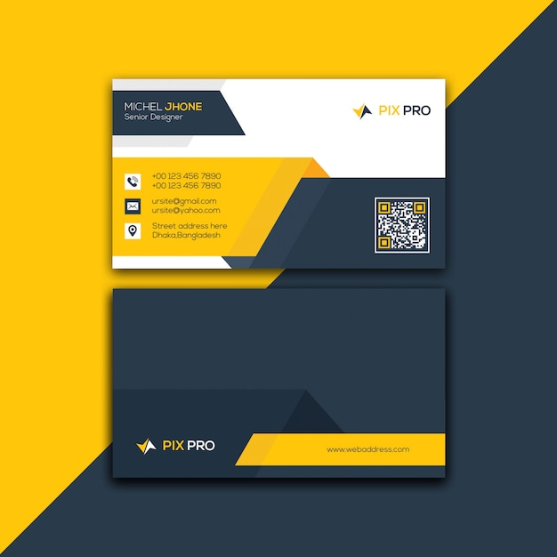 corporate business card template psd file  premium download