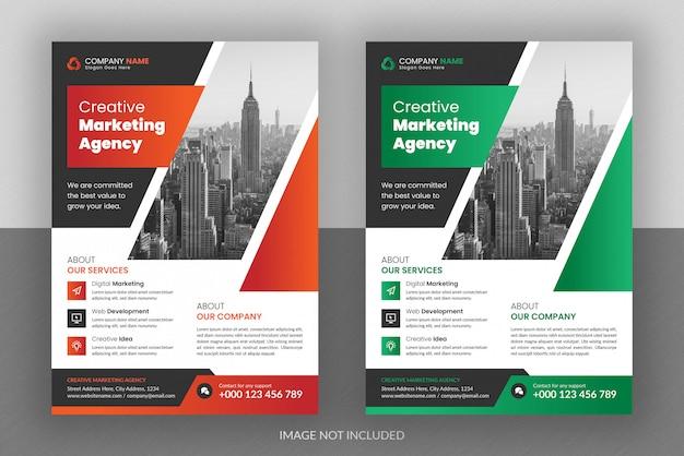 Corporate business digital marketing agency flyer design ...
